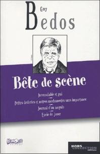 Guy Bedos - Bête de scène.