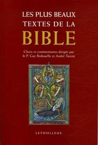 Guy Bedouelle et André Turcat - Les plus beaux textes de la Bible.