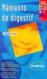 Guy Bellaïche - Mémento de digestif - Modules.