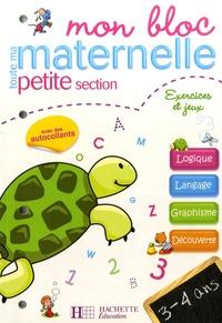 Deedr.fr Mon bloc toute ma maternelle petite section - Exercices et jeux Image
