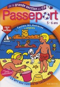 Guy Blandino et Marie-Christine Exbrayat - Passeport de la Grande Section au CP - Toutes les matières et anglais.