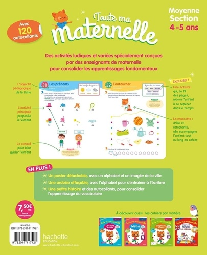 Toute ma maternelle Moyenne section