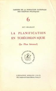 Guy Braibant - La planification en Tchécoslovaquie - Le plan biennal.