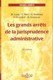 Guy Braibant - Les grands arrêts de la jurisprudence administrative. 1 Cédérom