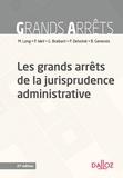 Les grands arrêts de la jurisprudence administrative.