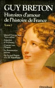 Histoires damour de lHistoire de France - Tome 2, Quand lamour était sans-culotte.pdf