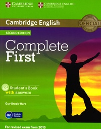 Guy Brook-Hart - Complete First for Revised Exam 2015 - Student's Book with Answers. 1 Cédérom