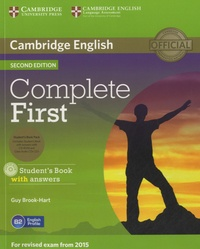 Guy Brook-Hart - Complete First - Student's Book with Answers. 1 Cédérom + 2 CD audio