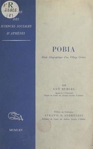 Guy Burgel et Stratis G. Andréadis - Pobia - Étude géographique d'un village crétois.