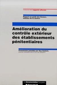 Amélioration du contrôle extérieur des établissements pénitentiaires. Rapport au garde des Sceaux, ministre de la Justice, Mars 2000.pdf