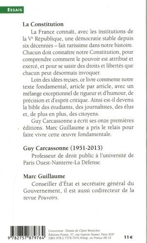 La Constitution 15e édition