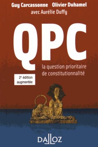 QPC la question prioritaire de constitutionnalité 2e édition
