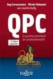 QPC. La question prioritaire de constitutionnalité.