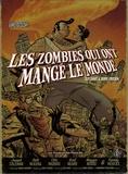 Guy Davis et Jerry Frissen - Les zombies qui ont mangé le monde Coffret en 4 volumes : Une odeur épouventable ; Les esclaves de l'amour ; Popypop ne répond plus ; La guerre de papes.