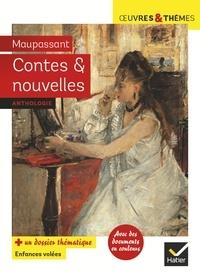 Guy de Maupassant - Contes et nouvelles - 7 nouvelles  réalistes, suivies d'un dossier  « Enfances volées ».