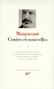 Guy de Maupassant - Contes et nouvelles - Tome 1.