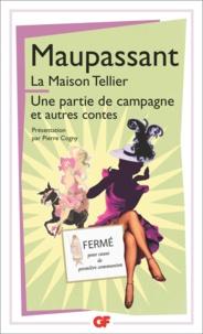 Pdf téléchargement gratuit ebooks La maison Tellier  - Une partie de campagne et autres contes