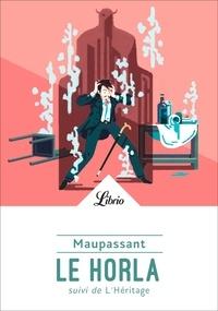 Télécharger gratuitement epub Le Horla  - Suivi de L'Héritage  par Guy de Maupassant 9782290171851