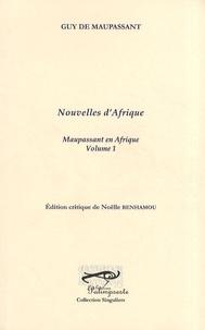 Guy de Maupassant - Nouvelles d'Afrique.