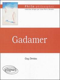 Guy Deniau - Gadamer.