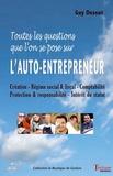 Guy Dessut - Auto-entrepreneur - Toutes les questions que l'on se pose.