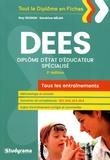 Guy Deudon et Sandrine Mélan - Tous les entraînements du DEES.