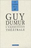 Guy Dumur - .