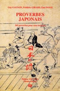 Proverbes japonais- 365 proverbes pour tous les jours - Guy Gagnon | Showmesound.org