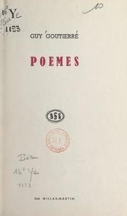Guy Gouttière - Poèmes.