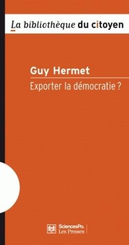 Exporter la démocratie ? 2e édition