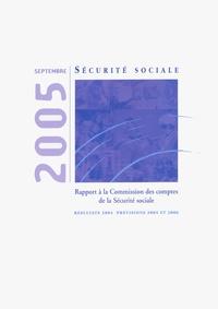 Guy Janssen - Les comptes de la sécurité sociale : Résultats 2004 - Prévisions 2005 et 2006.