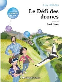 Guy Jimenes - Le defi des drones - lot de 15 romans + 1 fichier.