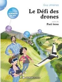 Guy Jimenes - Le defi des drones - lot de 5 romans.