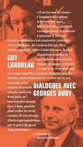 Guy Lardreau et Georges Duby - Dialogues avec Georges Duby.