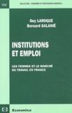 Guy Laroque et Bernard Salanié - .