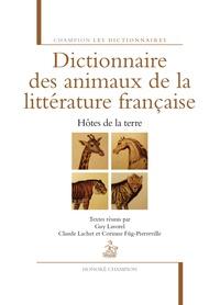 Accentsonline.fr Dictionnaire des animaux de la littérature française - Hôtes de la terre Image