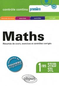 Guy Le Provost et Claudine Cherruau - Maths 1res STI2D, STL - Programme 2011.