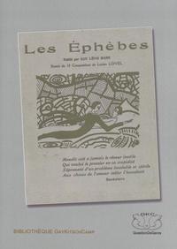Guy Lévis Mano - Les éphèbes.