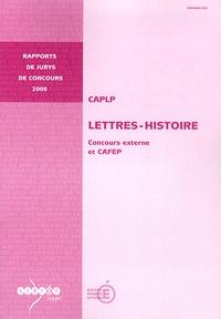 Guy Mandon - CAPLP Lettres-Histoire - Concours externe et CAFEP.