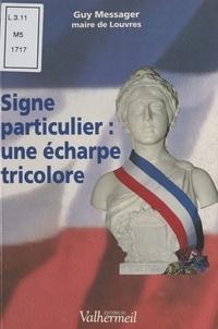 Guy Messager et Jean-Paul Delevoye - Signe particulier : Une écharpe tricolore.