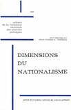 Guy Michelat et Jean-Pierre-H Thomas - Dimensions du nationalisme - Enquête par questionnaire (1962).