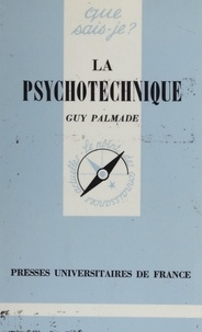 Guy Palmade - La psychotechnique.