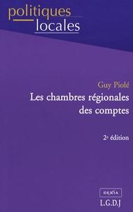 Guy Piolé - Les chambres régionales des comptes.