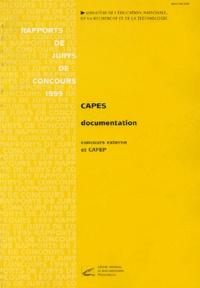CAPES externe et CAFEP Documentation - Rapports de jurys de concours 1999.pdf