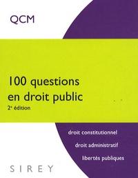 Galabria.be 100 Questions en droit public Image