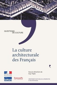 Guy Tapie - La culture architecturale des Français.