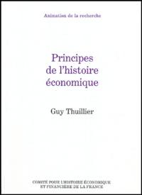 Histoiresdenlire.be Principes de l'histoire économique Image