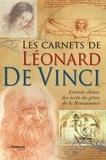 Guy Trédaniel - Les carnets de Léonard de Vinci.