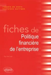 Fiches de politique financière de lentreprise - Rappels de cours et exercices corrigés.pdf