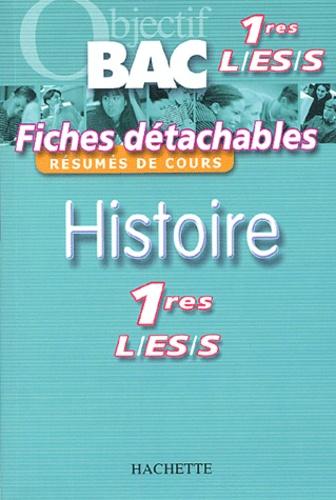 Guy Varenne et Régis Bénichi - Histoire 1e L, ES, S.